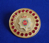 ROYAL CORPS OF TRANSPORT BROACH / BROOCH ( GRS ) REFS G